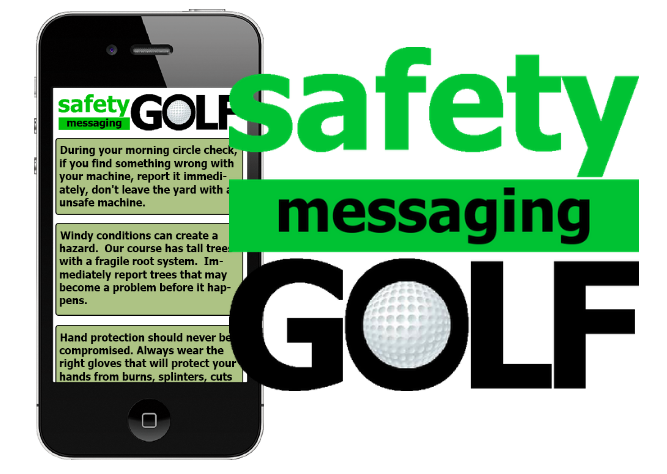 Safety Messaging Golf